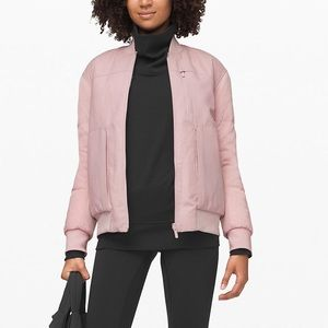 NWT Lululemon Roam Far Wool Bomber Puffer 6 $298